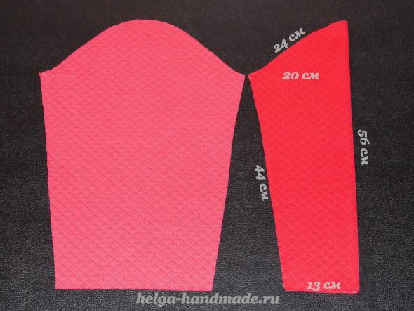 Выкройка рукавов для свитшота (толстовки)