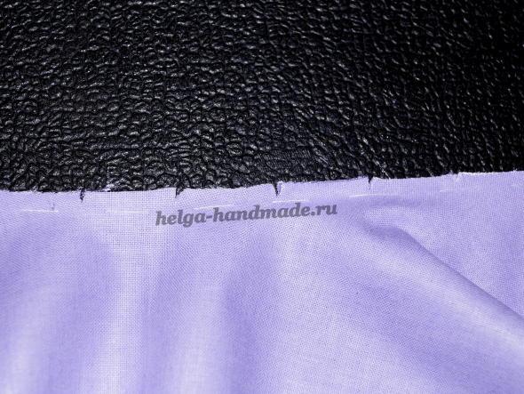 Сшиваем детали платья