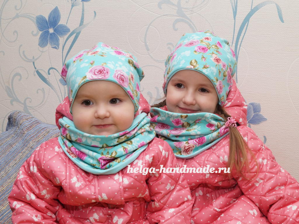 Сшить снуд и шапку для ребенка фото 265