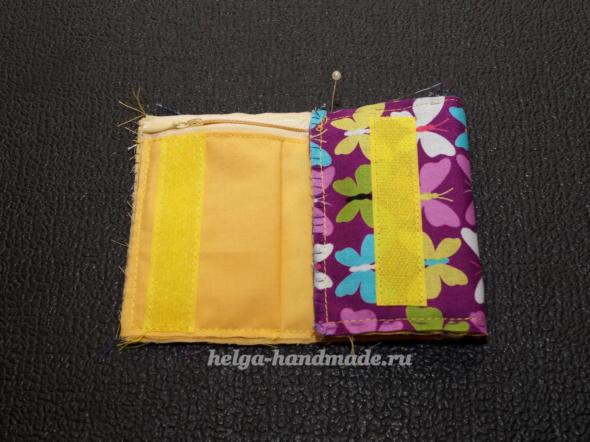 Как сшить кошелек из ткани своими руками