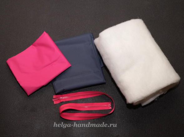 Материалы для пошива жилета