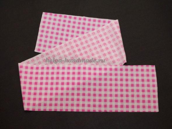 Полоска ткани для волана