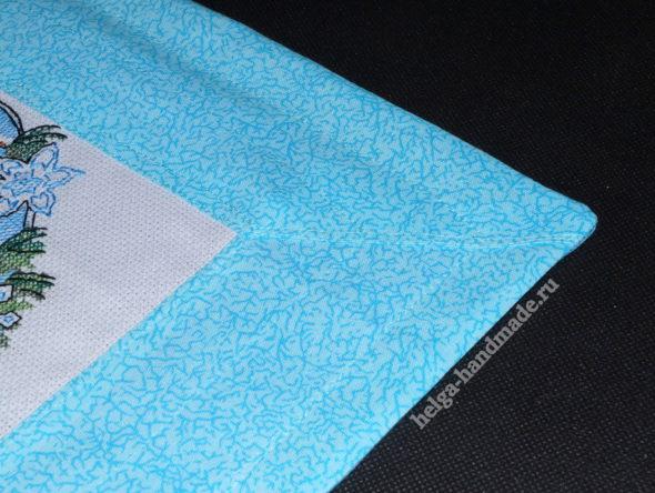 Декоративная подушка с вышивкой своими руками