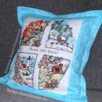 Бортики в виде подушек в кроватку для новорожденных своими руками выкройки фото 271