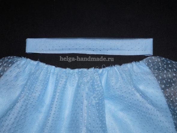 Пышная юбка из фатина (лёгкий способ) своими руками