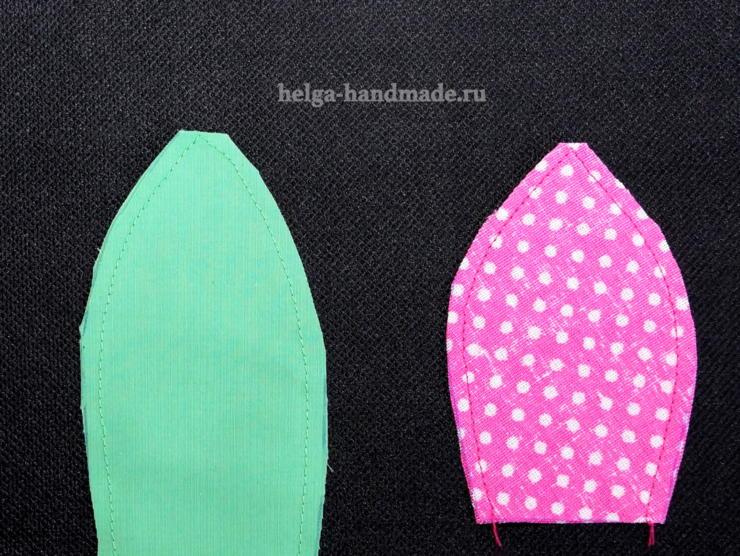 Как сделать тюльпан из ткани своими руками