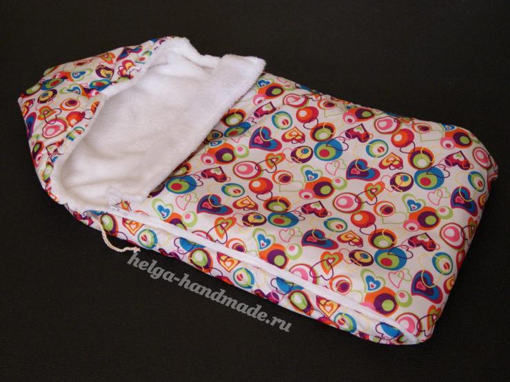 Кокон гнездышко для новорожденных своими руками сшить фото 909