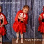 Детский новогодний костюм Красной шапочки