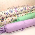 Шьем валики-бортики в детскую кроватку (выкройка)