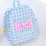 Детский рюкзак для девочек своими руками (выкройка)