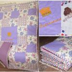 2 способа сшить лоскутное одеяло/покрывало