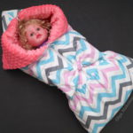 Одеяло-трансформер/конверт на выписку для новорожденного