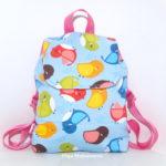 Детский рюкзак для девочек и мальчиков (+выкройка)