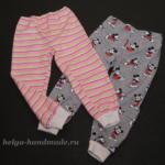 Детские штанишки (выкройка)
